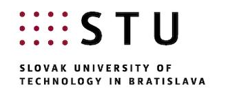 SLOVAK UNIVERSITY OF TECHNOLOGY IN BRATISLAVA Logo