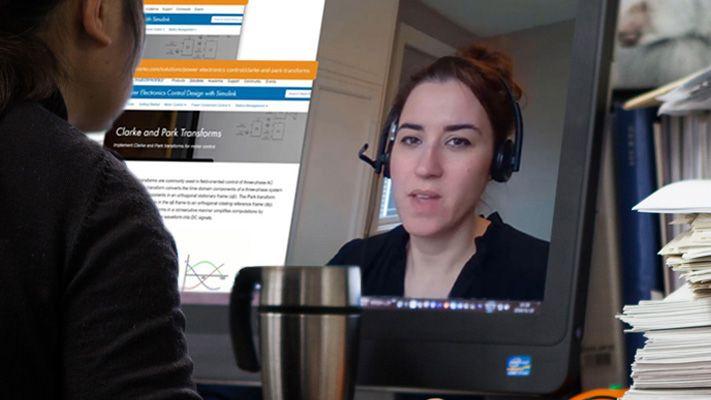 Online event, virtual demo