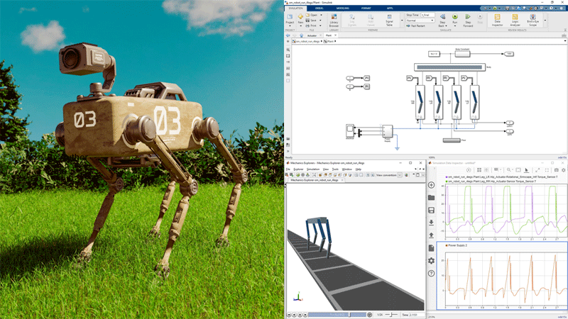Introduction to Simscape for Modeling Multidomain Physical Systems
