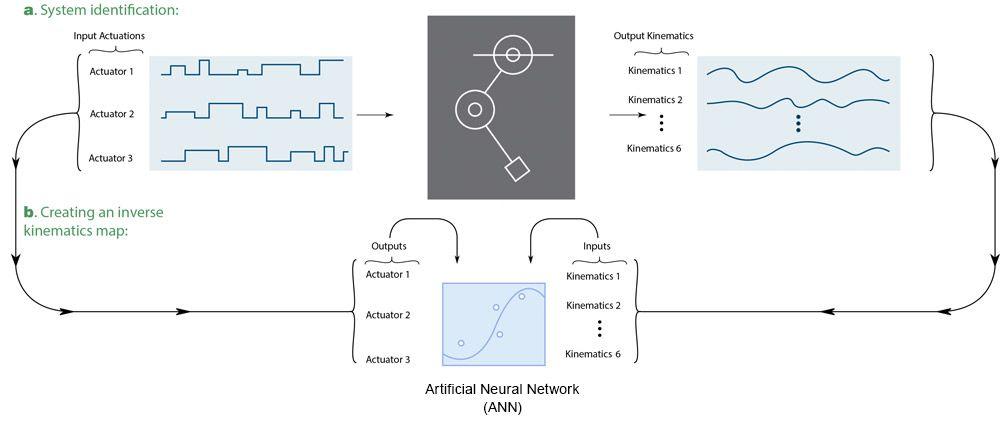 Figure 3. Artificial neural network (ANN) training on motor babbling data.