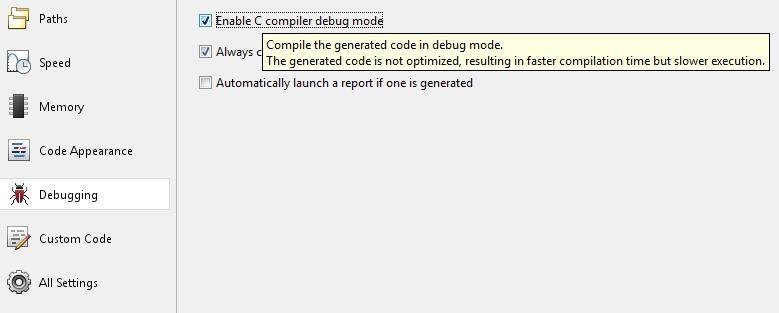 Profiling C Code Generated by MATLAB Coder - MATLAB & Simulink