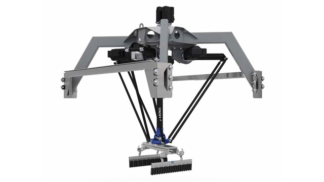 Krones Develops Package-Handling Robot Digital Twin