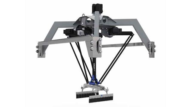 Krones Develops Package-Handling Robot Digital Twin