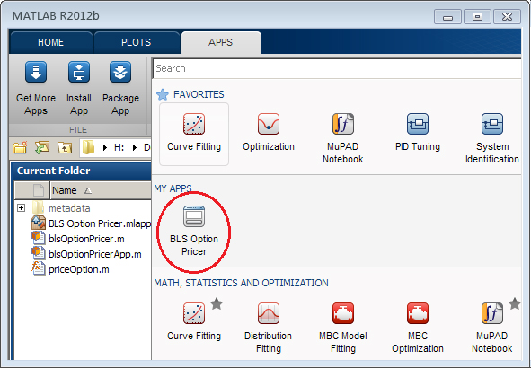matlab application Desktop and web deployment with mathworks products enables you to distribute code directly to others or use application deployment products to enable automatic generation and royalty-free distribution of turnkey applications and components.