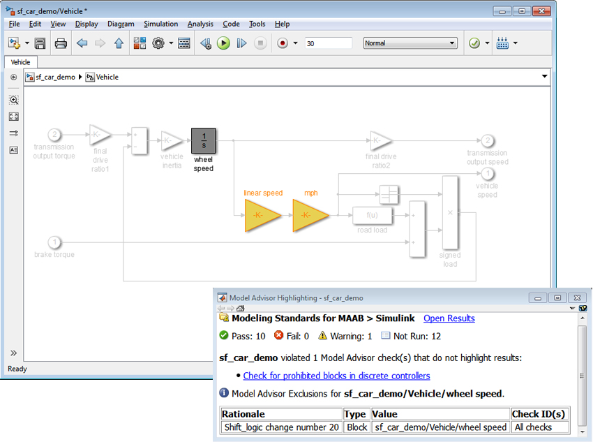 Accelerating Model Verification with Model Advisor - MATLAB & Simulink