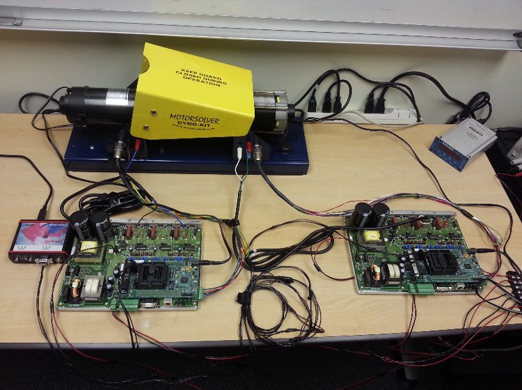 Creating A Desktop Electric Motor Dynamometer System With Ti 39 S C2000 Support Package And Model