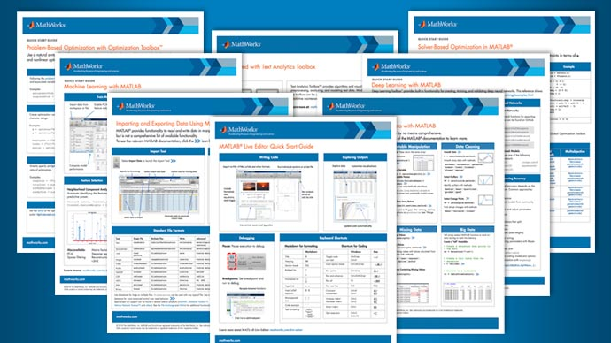 8 MATLAB Cheat Sheets for Data Science