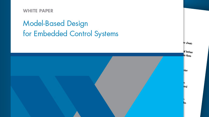 Model-Based Design for Embedded Control Systems