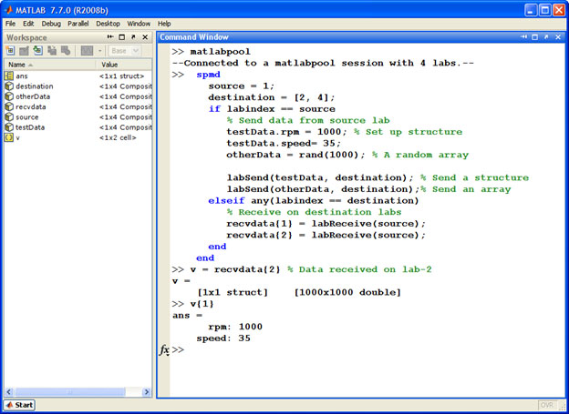 Parallel Computing Toolbox Parallel Programming In