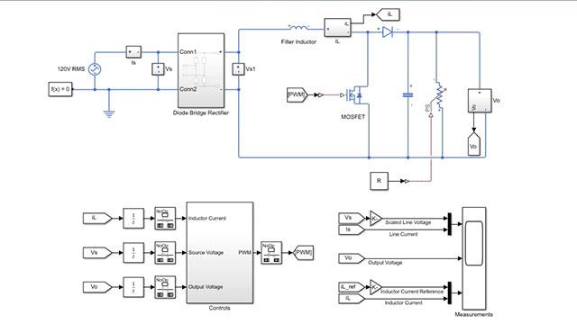 Power Factor Correction - MATLAB & Simulink