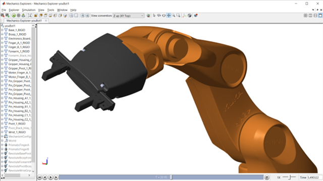 Importing and Merging CAD Models into SimMechanics - Video