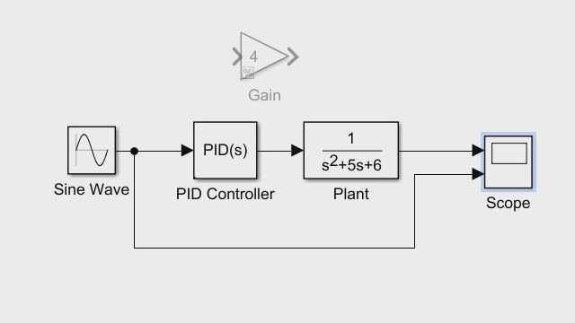 getting started with simulink  part 2  adding a controller and plant to the simulink model video