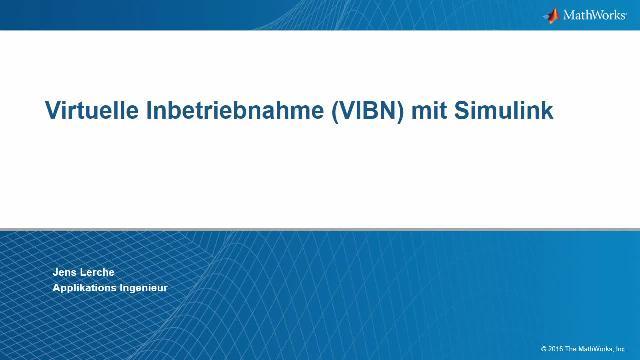 Virtuelle Inbetriebnahme mit Simulink – Erzeugung von IEC