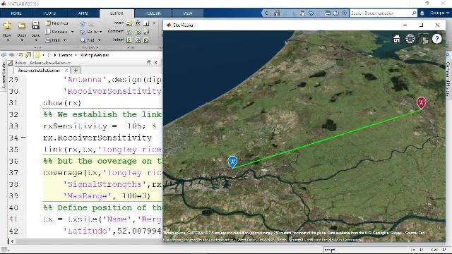 Mapping RF Propagation for Wireless Communications Video