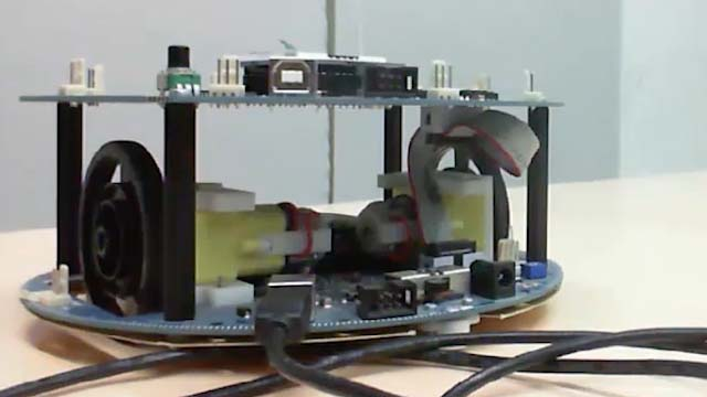 Model a line follower algorithm in Simulink and run it on an Arduino Robot.