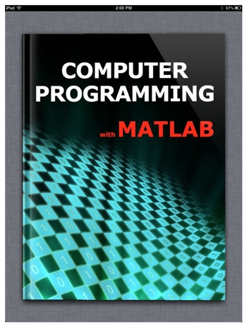 Teaching computer programming to first year engineering students the computer programming with matlab ebook fandeluxe Images