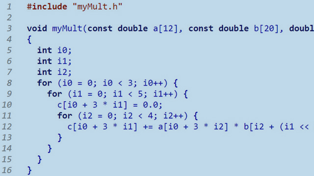The Joy of Generating C Code from MATLAB