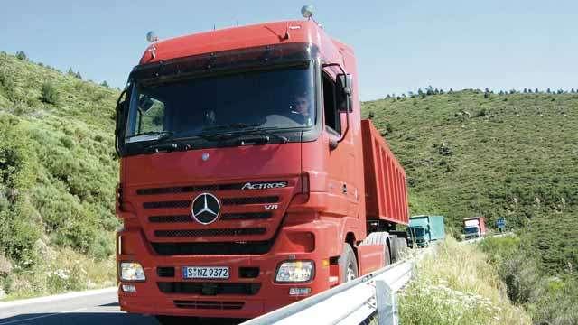 Daimler Designs Cruise Controller For Mercedes Benz Trucks Matlab
