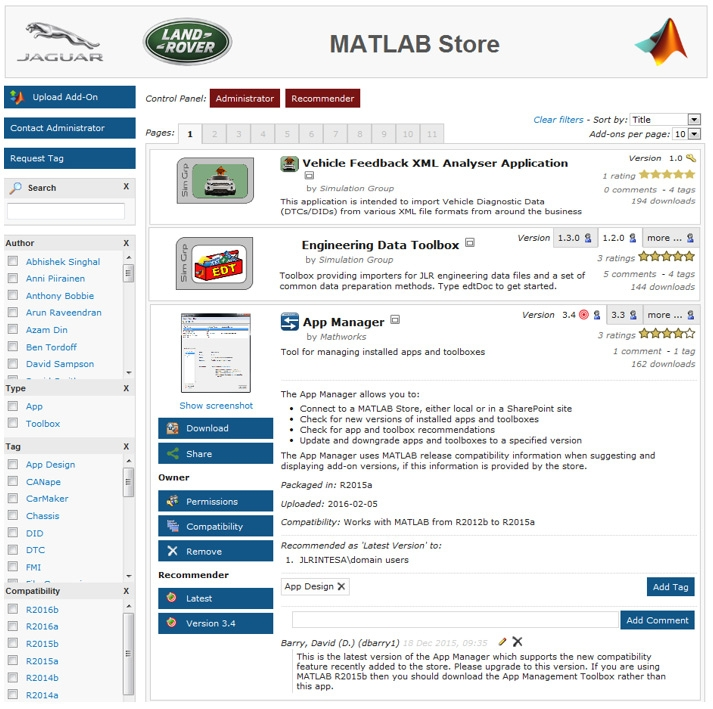 Jaguar Land Rover Standardizes on MATLAB for Developing, Packaging