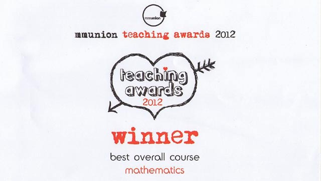 Manchester Metropolitan University Students Vote Math Best Overall Course Following Adoption of MATLAB