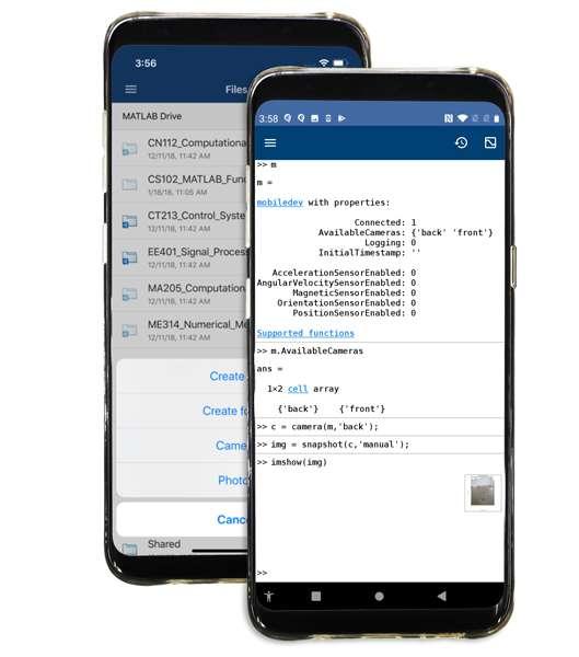 MATLAB Mobile Overview - MATLAB & Simulink