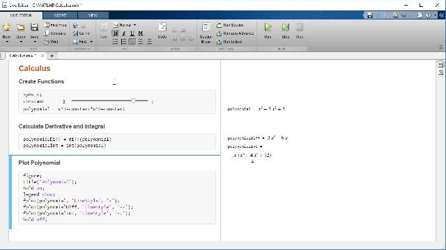 Learn how to perform calculus using MATLAB and Symbolic Math Toolbox.