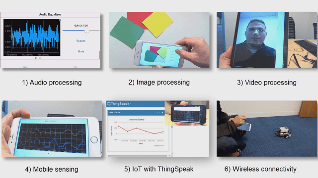 Create mobile apps directly from Simulink and run models on your Android or iOS phone or tablet.