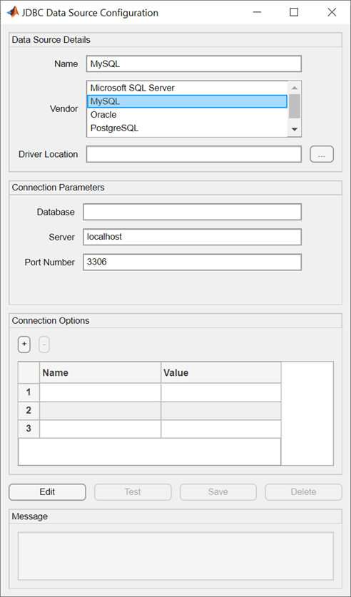 MySQL JDBC for Windows - MATLAB & Simulink