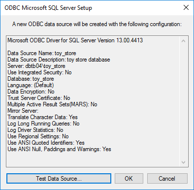 Microsoft SQL Server ODBC for Windows - MATLAB & Simulink