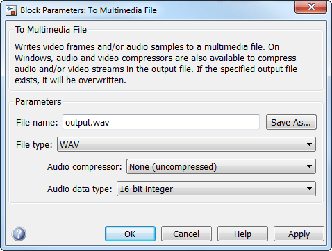 Stream video frames and audio samples to multimedia file