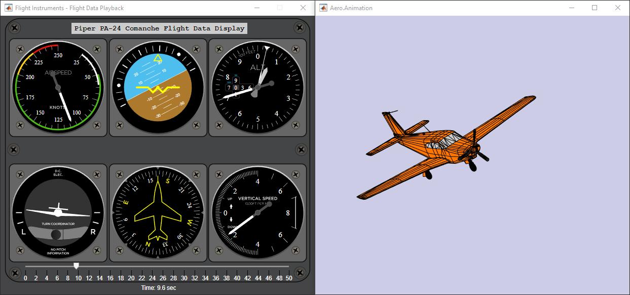 Aerospace Flight Instruments in App Designer - MATLAB & Simulink