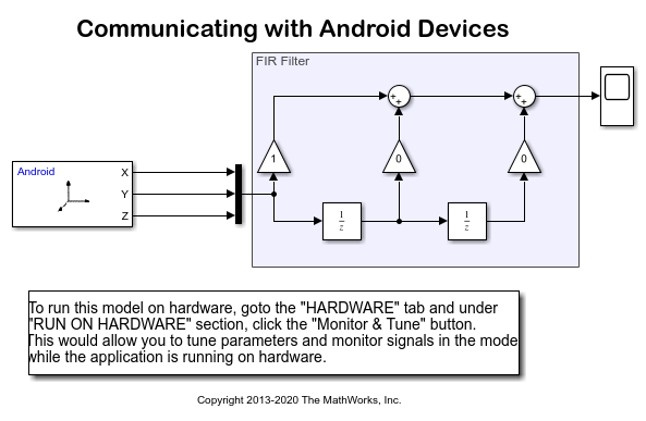 Communicating with Android™ Devices - MATLAB & Simulink