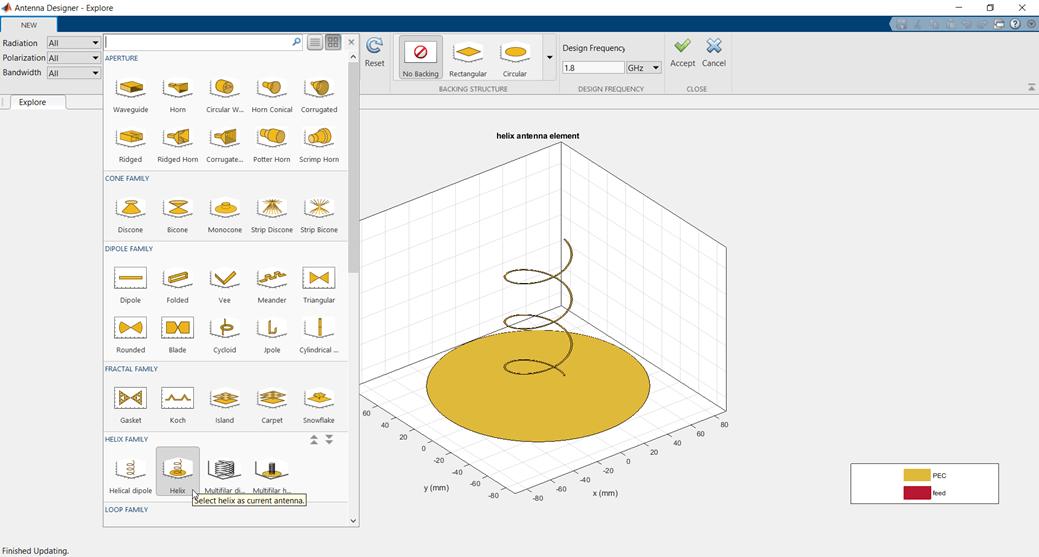 Design and Analysis Using Antenna Designer App - MATLAB