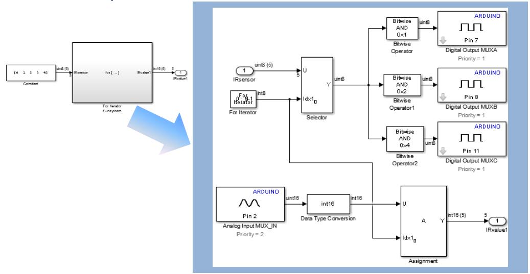 Line follower application for arduino robot matlab