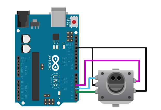 Control Rotary Encoder Knob - MATLAB & Simulink Example