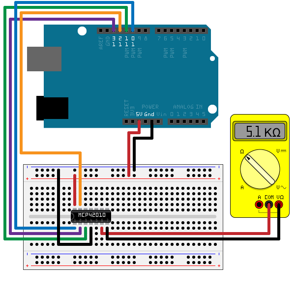 Communicate with SPI Device on Arduino Hardware - MATLAB