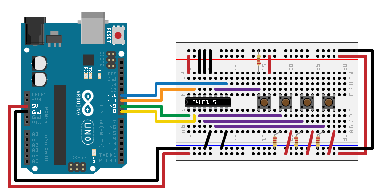 Serial in serial out shift register theory