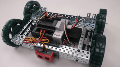 Obstacle Detection using Ultrasonic Sensor with the VEX