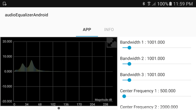 Parametric Audio Equalizer for Android Devices - MATLAB & Simulink