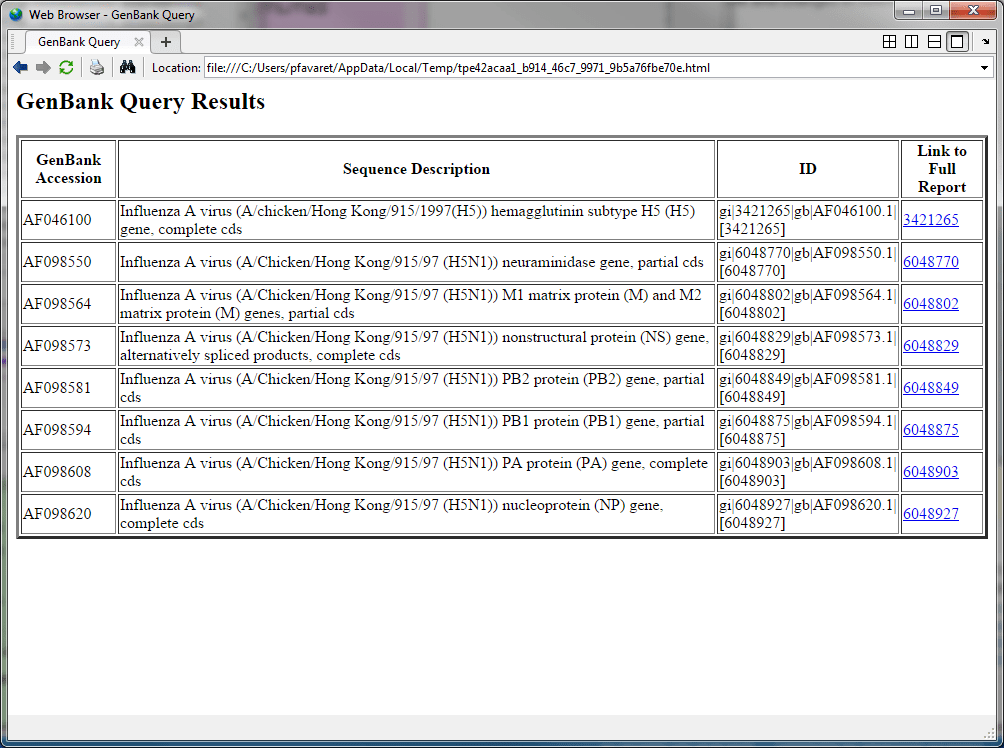 Accessing ncbi entrez databases with e utilities matlab simulink retrieving full genbank files with efetch stopboris Images
