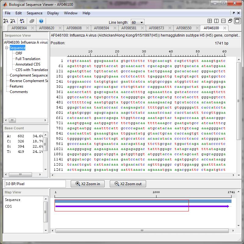 Accessing Ncbi Entrez Databases With E Utilities Matlab Simulink