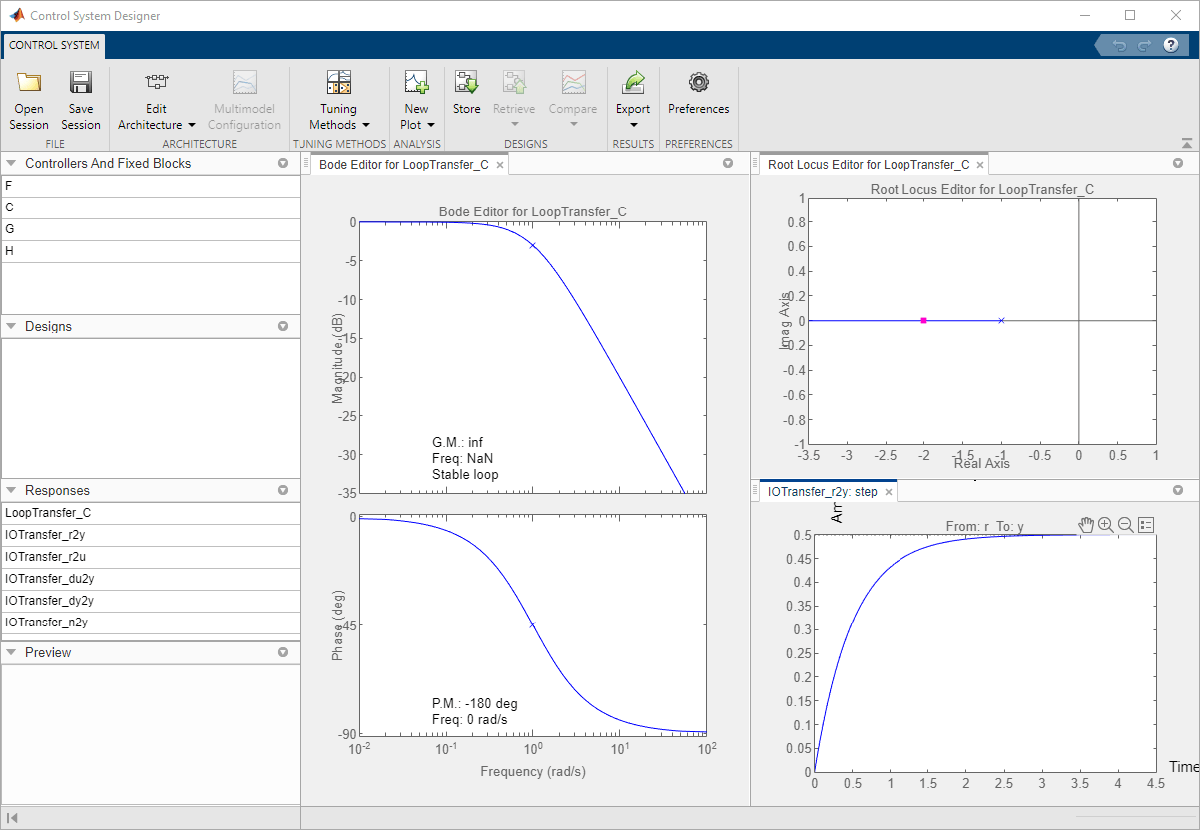 Getting Started with the Control System Designer - MATLAB & Simulink