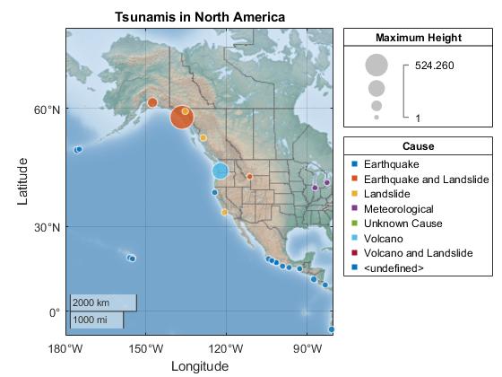 Plot in Geographic Coordinates - MATLAB & Simulink