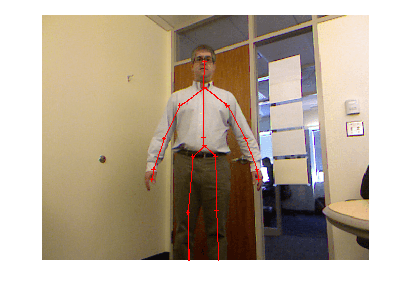 Using the Kinect for Windows V1 from Image Acquisition