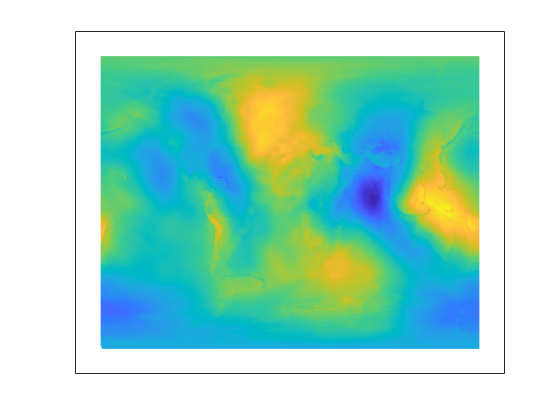 Drape Geoid Heights Over Topography - MATLAB & Simulink