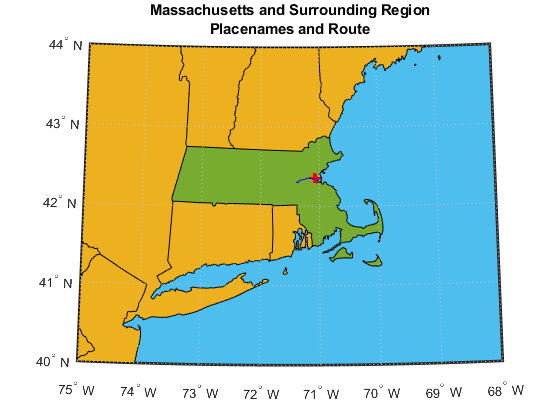 Creating Map Displays With Latitude And Longitude Data MATLAB - D3 map states using lat and us