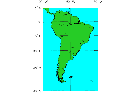 Continent Shapefile