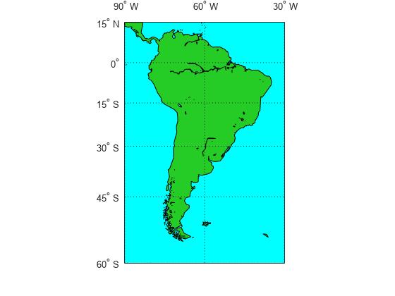 Converting Coastline Data (GSHHG) to Shapefile Format - MATLAB