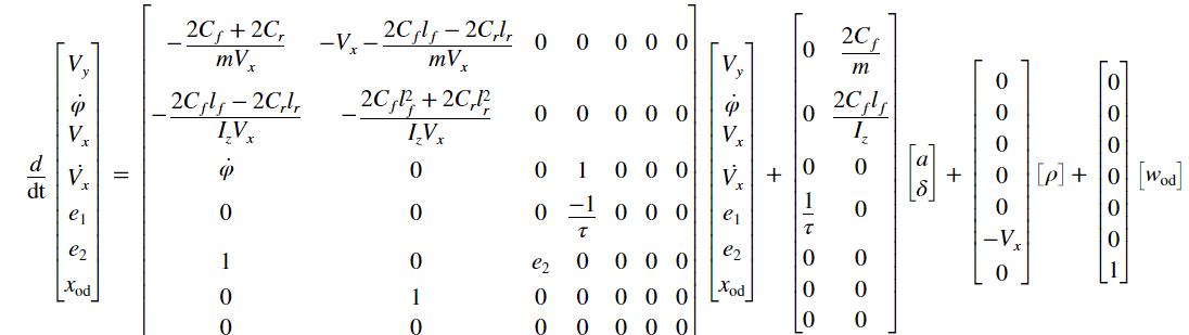 Lane Following Using Nonlinear Model Predictive Control