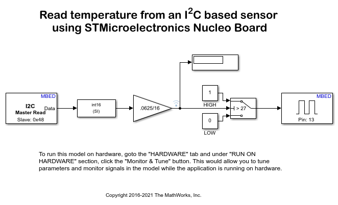 Read Data from I2C-based Sensors Using STMicroelectronics Nucleo